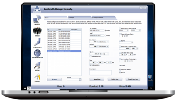 Antamedia Bandwidth Manager Full