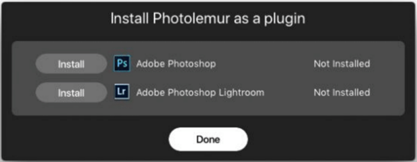 Install Photolemur As A Plugin